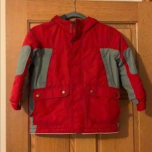 Lands End boys jacket size 5-6 EUC